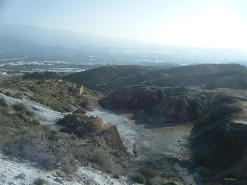 Minas de azufre, La Partala, Benahadux, Almeria, Andalucia, España Dscf4718