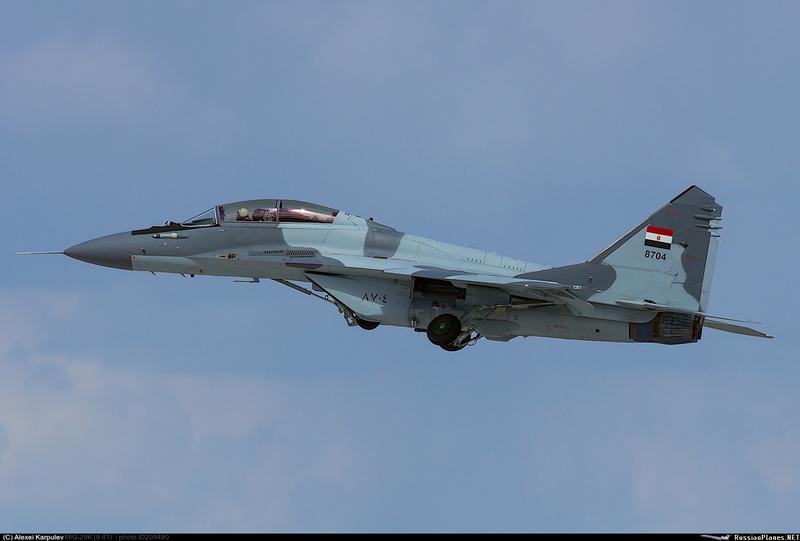 """روسيا ملتزمة بعقد بيع مقاتلات """"ميغ 29"""" إلى سلاح الجو المصري 20948010"""