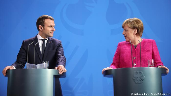 ماكرون ينقذ أوروبا... ويترتب على الألمان دفع المال 38851410