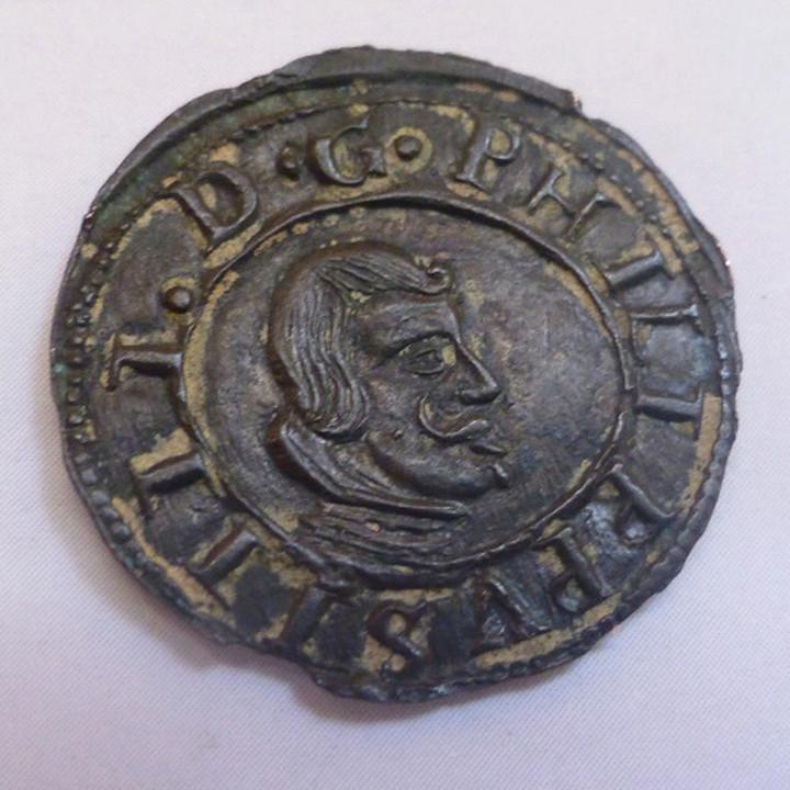16 Maravedíes de Felipe IV -Valladolid de 1663 16_mar10