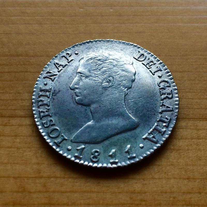 4 Reales 1811. José I. Madrid Anvers11