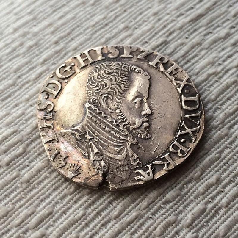 1/5 de Escudo - Felipe II - Amberes Fullsi10