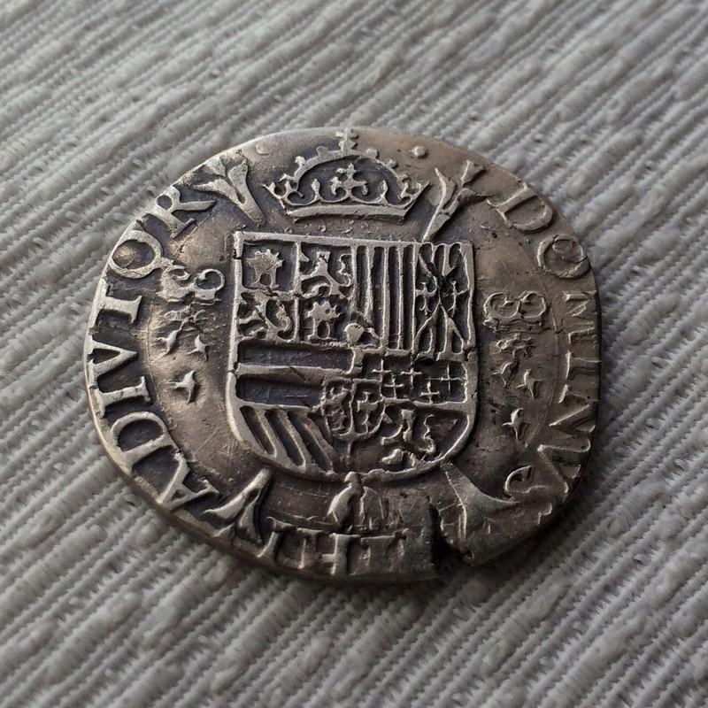 1/5 de Escudo - Felipe II - Amberes Fullsi11