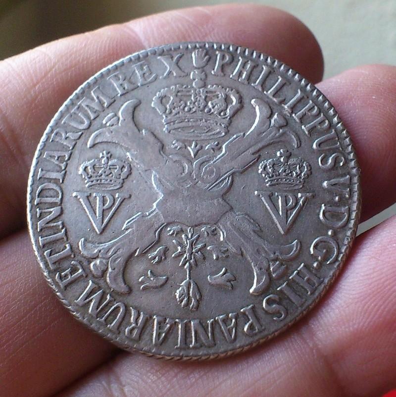 1/5 de ÉCU   Felipe II - 1571-  Amberes PAISES BAJOS ESPAÑOLES - Página 2 1705e10