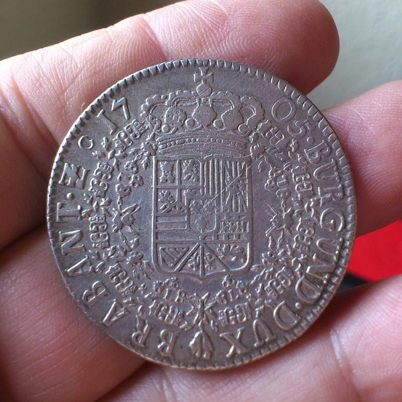 1/5 de ÉCU   Felipe II - 1571-  Amberes PAISES BAJOS ESPAÑOLES - Página 2 1705f10