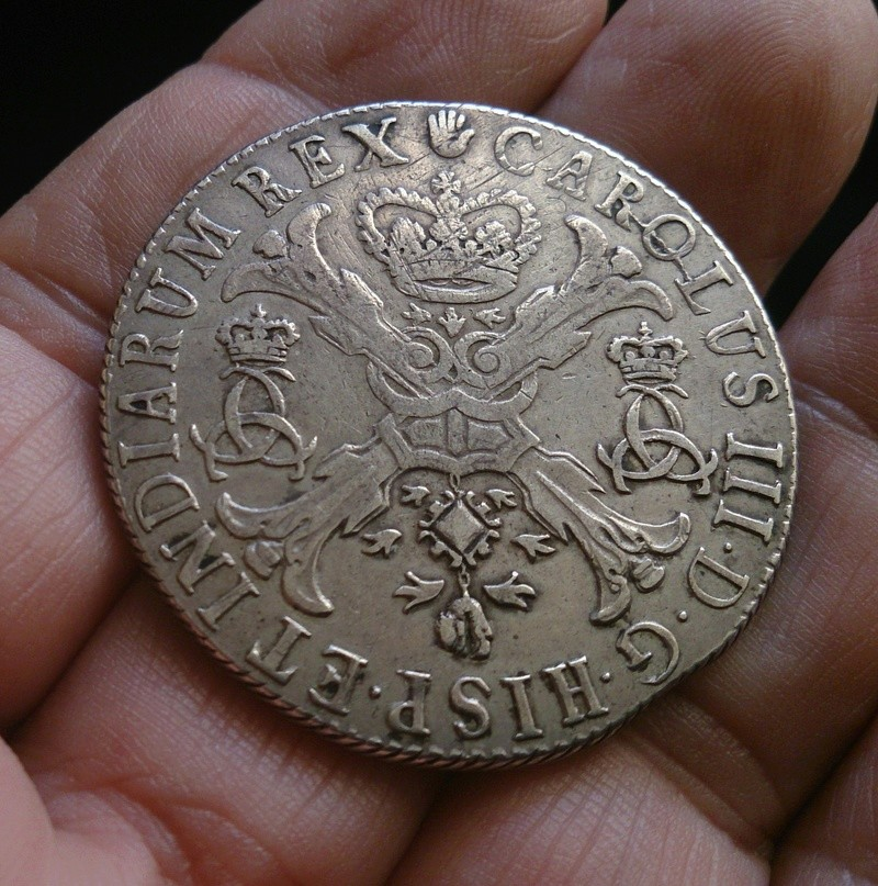 Patagón 1709. Carlos III (pretendiente). Brabante (Amberes) 1709e10