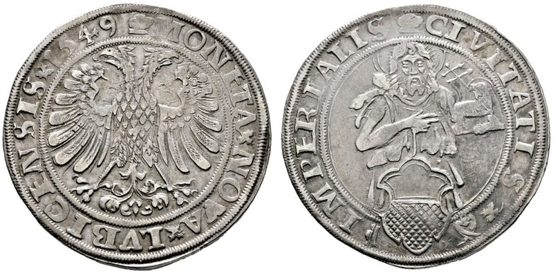 Lübeck. 8 schilling 1728 38854910