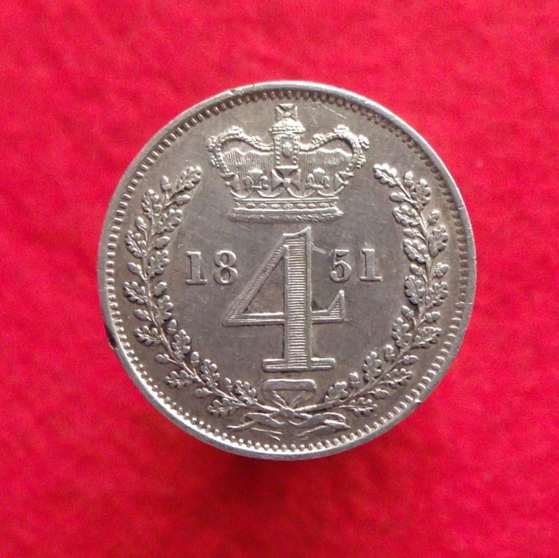4 Pence. Victoria de Inglaterra. 1851 Gedc1111