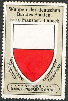 Lübeck. 8 schilling 1728 Lubeck10