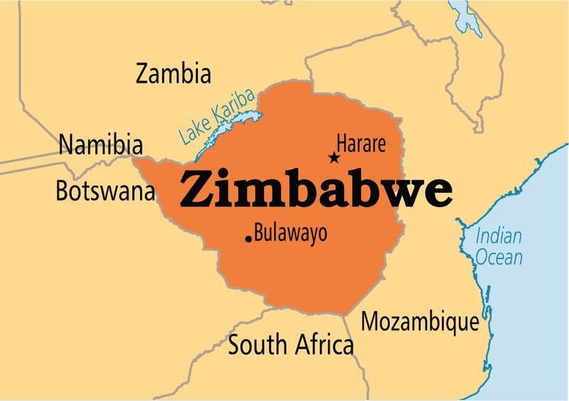 Mapa dolar Zimbabwe Zimb-m10