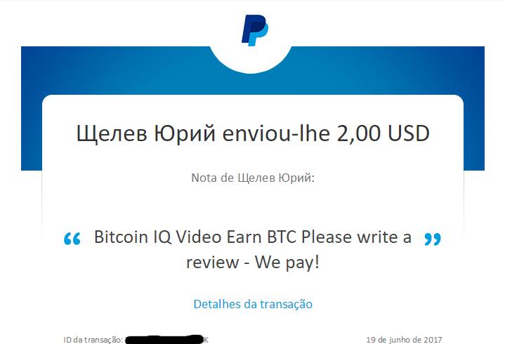 [Provado] Bitcoin IQ Video Earn BTC - Android - Paga por Paypal/Bitcoins (Actualizado em 16/10/2017) Bitiqm10