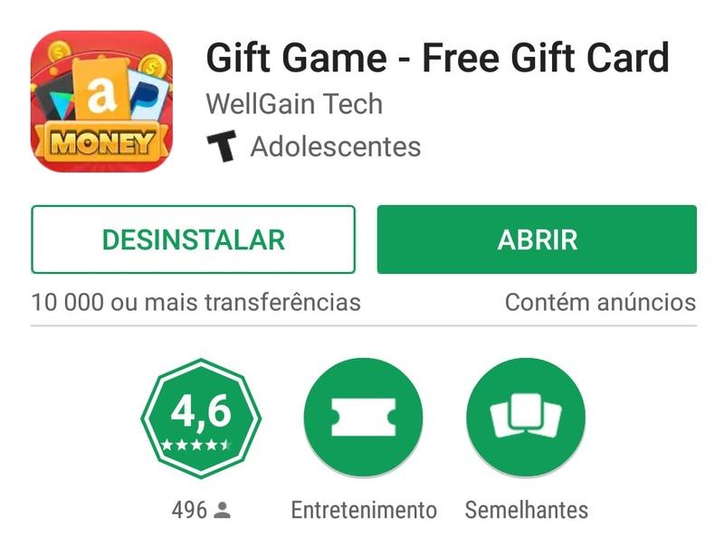 [Testar] Gift Game - Free Gift Card -  Android/iOS app Worldwide - Paga por Paypal (Actualizado em 03/03/2017) Gg10