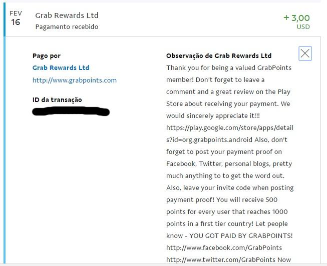 [Provado] Grabpoints - Ganhe dinheiro no Computador / Telem¨®vel (Android e iOS) - Página 2 Grabp110