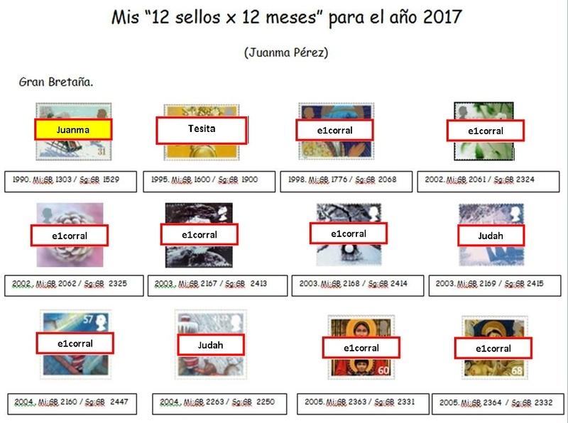 12 MESES - 12 SELLOS - (2ª EDICIÓN) Juanma10