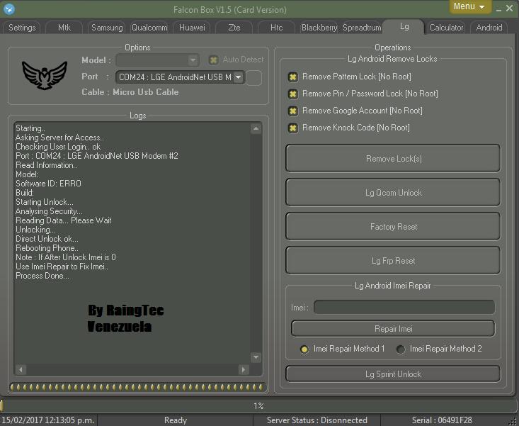 LIBERACION FREE LG L9 P768G CON FALCON CRACK 1.5 Unlock18