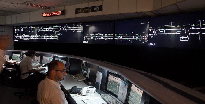 El Puesto Central de Operaciones del Subte, por dentro 00143