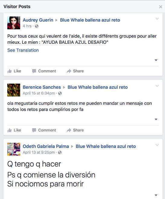 """JUEGO DE LA """"BALLENA AZUL"""" LLEGANDO A MÉXICO! Got17"""