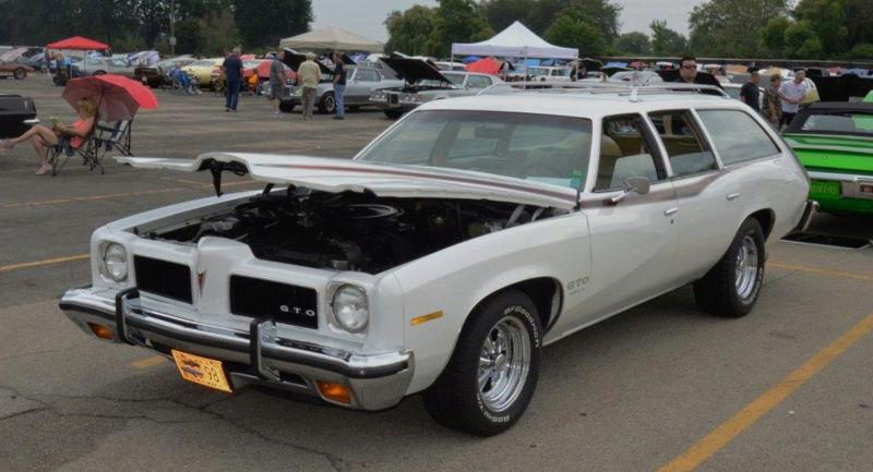 1973 Pontiac Lemans wagon GTO clone Wagong10