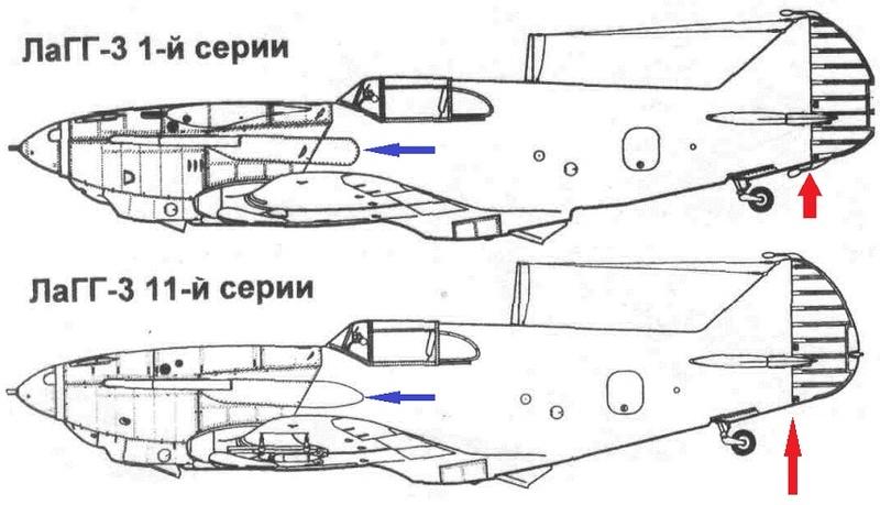 ЛаГГ-3 11-й серии 1/48 ICM 0110