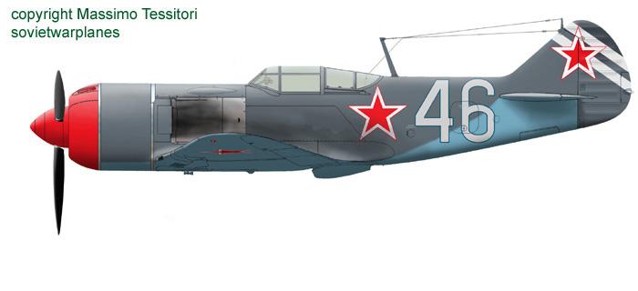 "Ла-7 1/48 Academy ""дрова с дополнениями"" 46of3210"