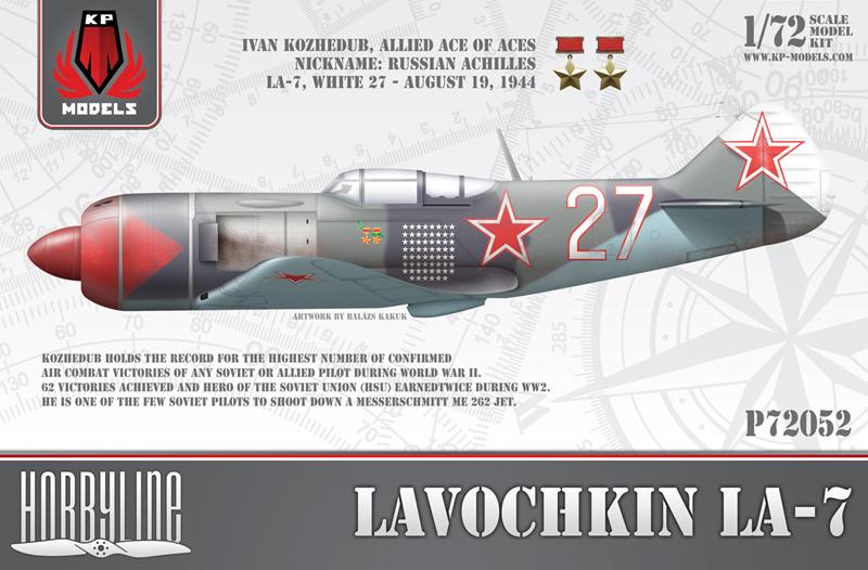 """Ла-7 1/48 Academy """"дрова с дополнениями"""" I612810"""