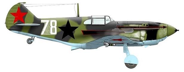ЛаГГ-3 11-й серии 1/48 ICM Mirnfl12
