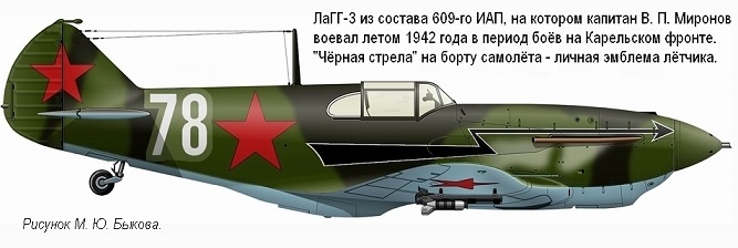 ЛаГГ-3 11-й серии 1/48 ICM Mirono10