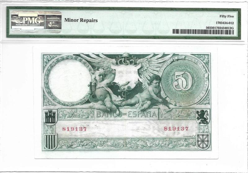 50 pesetas 1905. MUY RARO ASÍ (Yo creo que no) 737b10