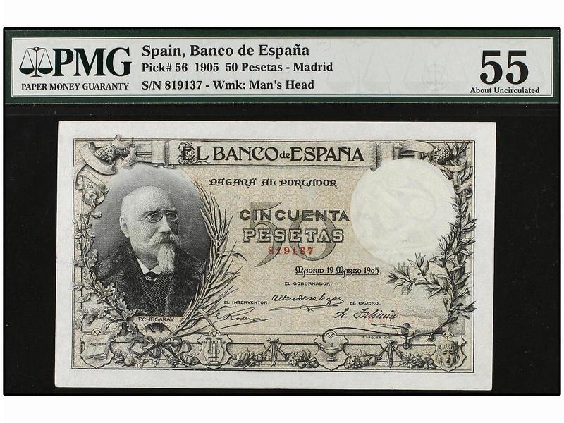50 pesetas 1905. MUY RARO ASÍ (Yo creo que no) A0737q10