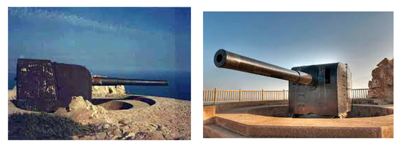 Pieza de artillería Vicker10