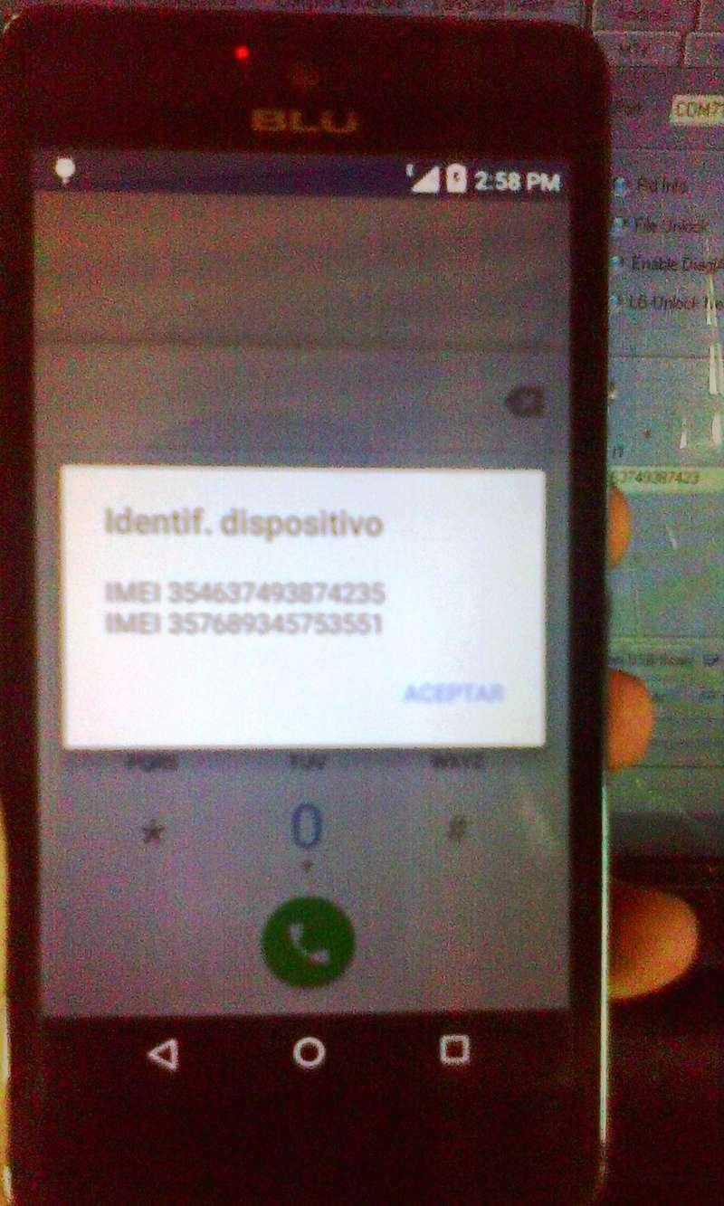 Aporte Reparación de imei Blu Studio C 5+5 LTE QUALCOMM BY MIRACLE Blu_st14