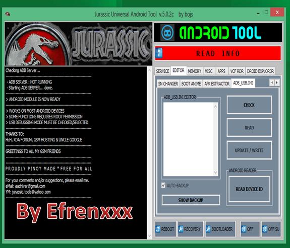 JURASSINK ANDROID TOOL V5.0.3 FULL Jurass11