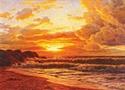 Выставка живописи И.Ф.Шультце Zakat-10