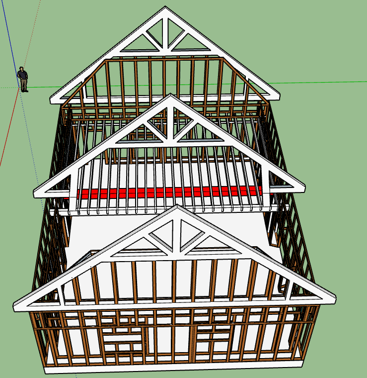 Charpente sketchup Photo_11