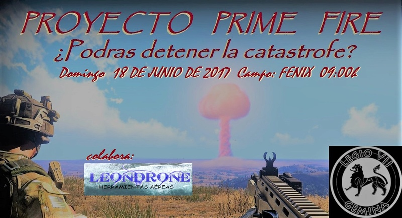 PROYECTO PRIME FIRE 18 DE JUNIO DE 2017 Proyec11