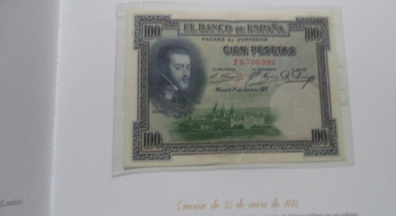 Vuelven los billetes de peseta con ABC A15