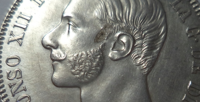 2 pesetas 1882. Alfonso XII   C13