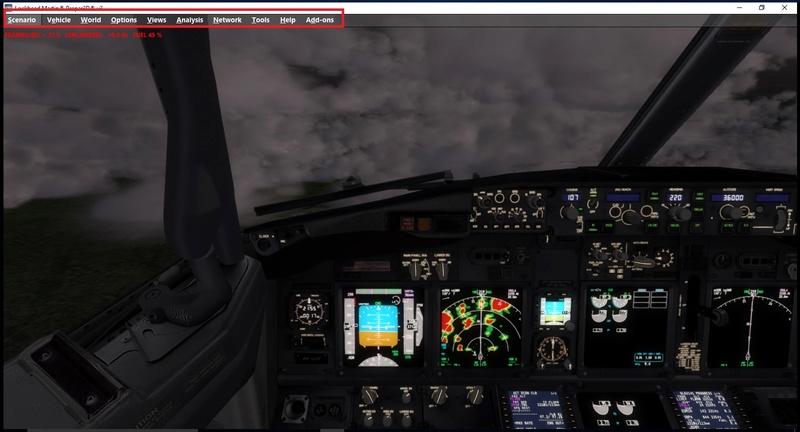 Iniciar o P3d com outra aeronave e cenario Untitl11
