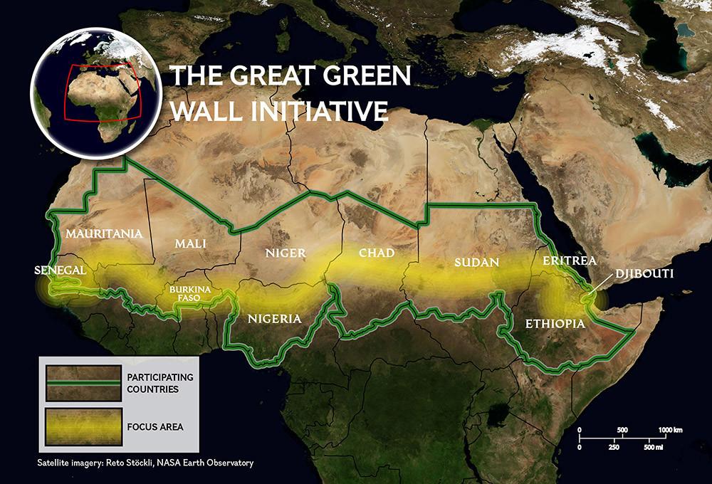 """África: La """"Gran Muralla Verde"""" en el Sahel. 1366_210"""