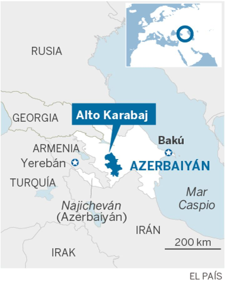 Azerbaiyán, Armenia y Alto Karabaj. 14597010