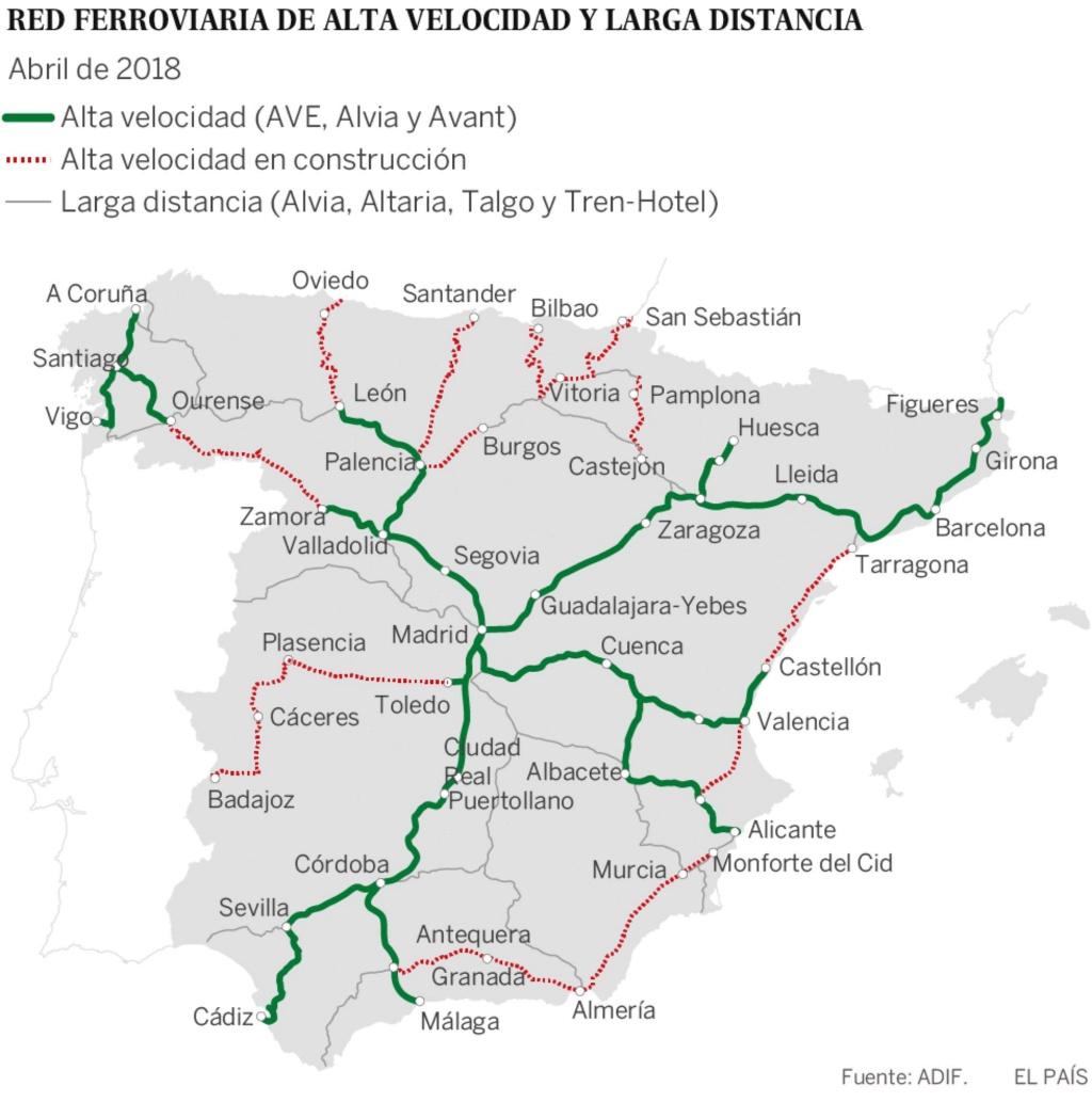 Transportes: Ferrocarril en España, alta velocidad, convencional. - Página 7 15251710