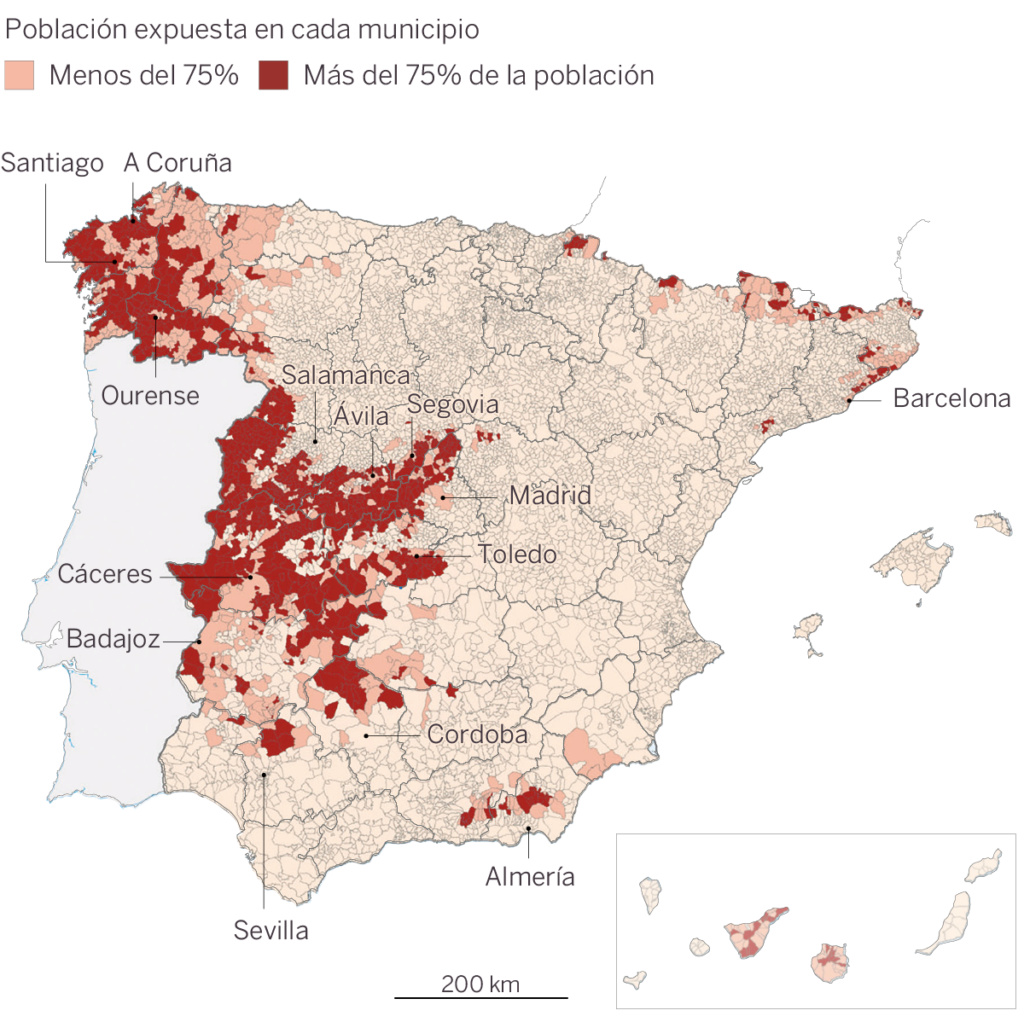 España, Galiza: gas radón, cáncer, edificios laborales, viviendas... 15502610