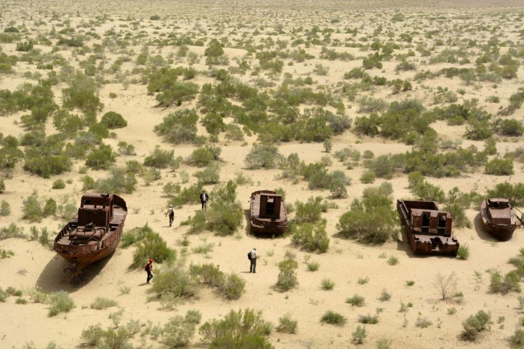 Mar de Aral reducido al 10% de la superficie anterior. 15524811