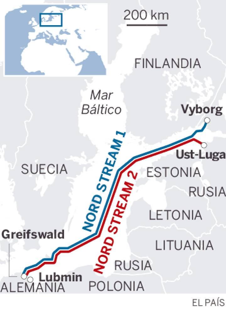 Energía: Gasoducto Nord Stream desde Rusia por el Báltico a la UE. 15544510