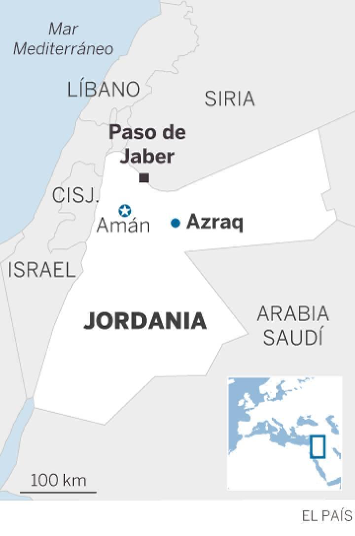 Jordania: la Policía reprime con dureza las protestas por la carestía del combustible. 15633010