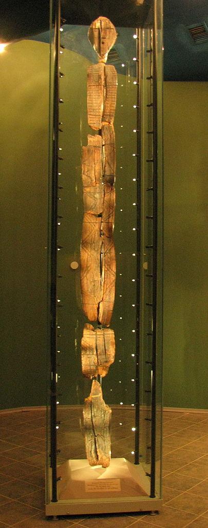 El ídolo de Shigir de los Urales. La escultura de madera más antigua. [Historia] 405px-10