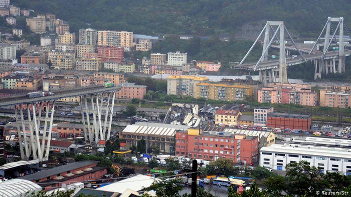 El viaducto Morandi en Génova (Italia): Expertos advirtieron que acabaría sufriendo un desenlace como el ocurrido. 45080810