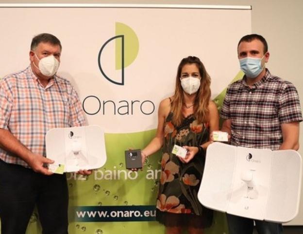 El Ayuntamiento de Oñati [Gipuzkoa] presenta su propio operador de telecomunicaciones: Onaro. 65367910