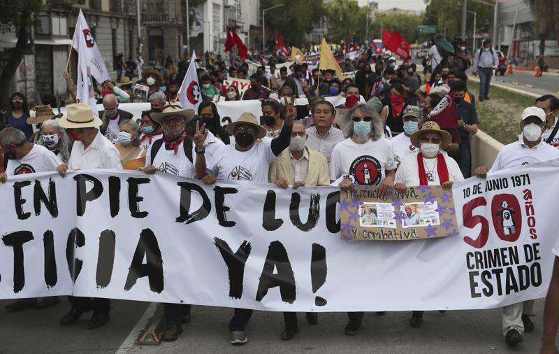 México. Impunidad de la represión en junio de 1971. [HistoriaC] 80036
