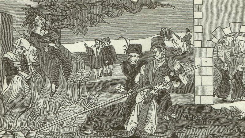 Así inventaron a las brujas.  [Historia] _1175110